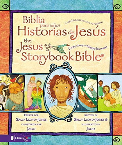 Biblia para niños: Historias de Jesús: Cada Historia Susurra Su Nombre