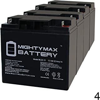 12V 8AH Replacement Battery for WKA12-7.5F Mighty Max 10 Pack ML8-12
