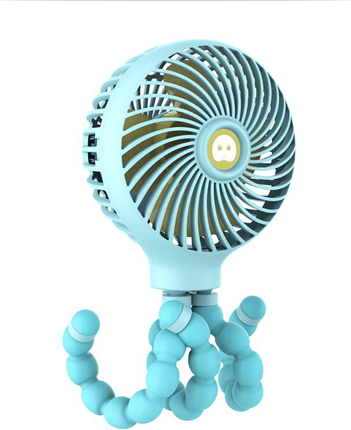 AW-SJ Portable Small Handheld Fan sold 1 year warranty out Tripod Flexible On Clip with