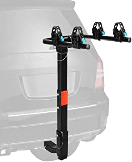 XCAR 2-Bike Bicycle Hitch Mount Carrier Rack Heavy Duty for Cars, Trucks, SUV's Hatchbacks Fit for 2