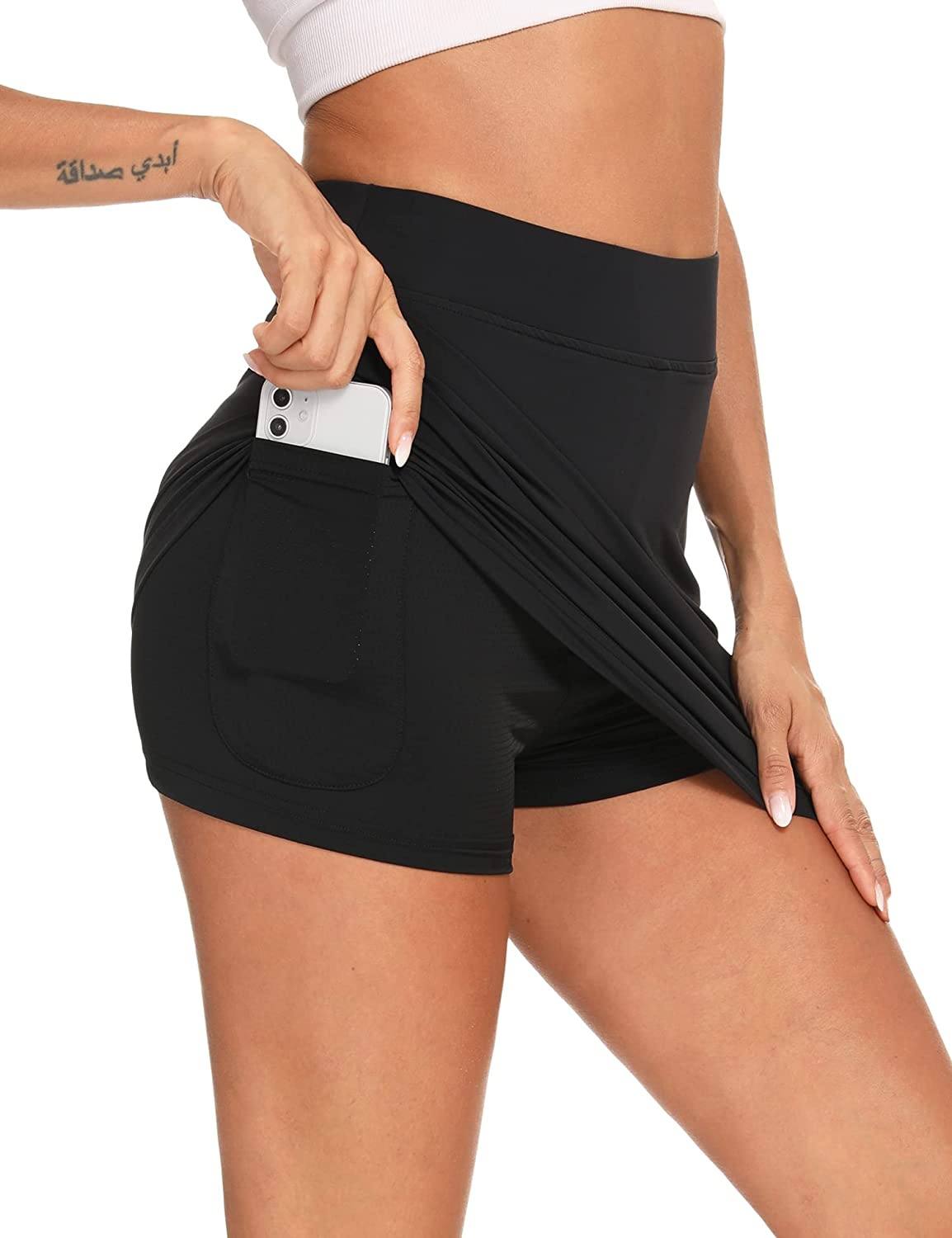 Max 89% OFF Women's High Waisted Discount mail order Tennis Skirt Athletic Golf Skort wit Active