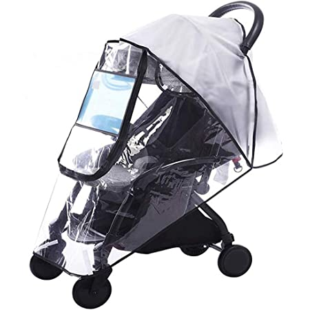 Baby Travel Weather Shield Windproof Waterproof Protect from Dust Snow Stroller Rain Cover Universal