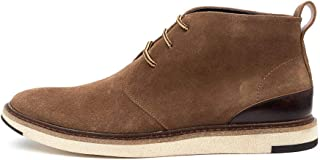 JULIUS MARLOW Noticed Tan Suede Mens Desert Boots Mens Shoes