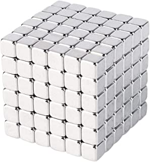 Magnetic cube, 216pcs Magic Cubes Building Blocks Educational Toys Stress Relief Toy Games Square Cube Magnets develops intelligence Office School Home DIY Desktop Decoration