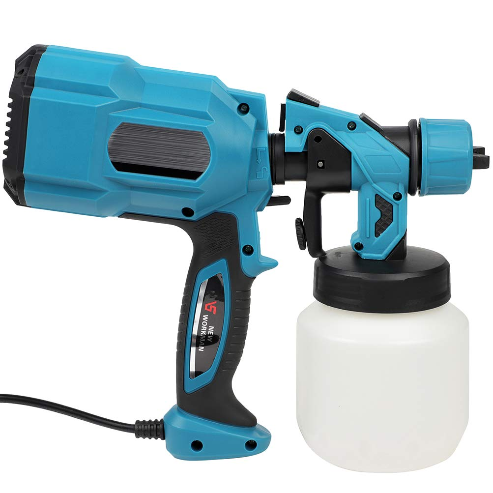 Paint Superior Sprayer Gun 650W 800ml Electric Wall Varnish Home L New York Mall Garden