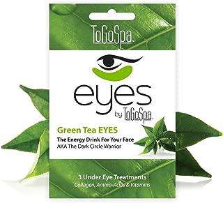 To Go Spa Green Tea Eyes, Pair of 3