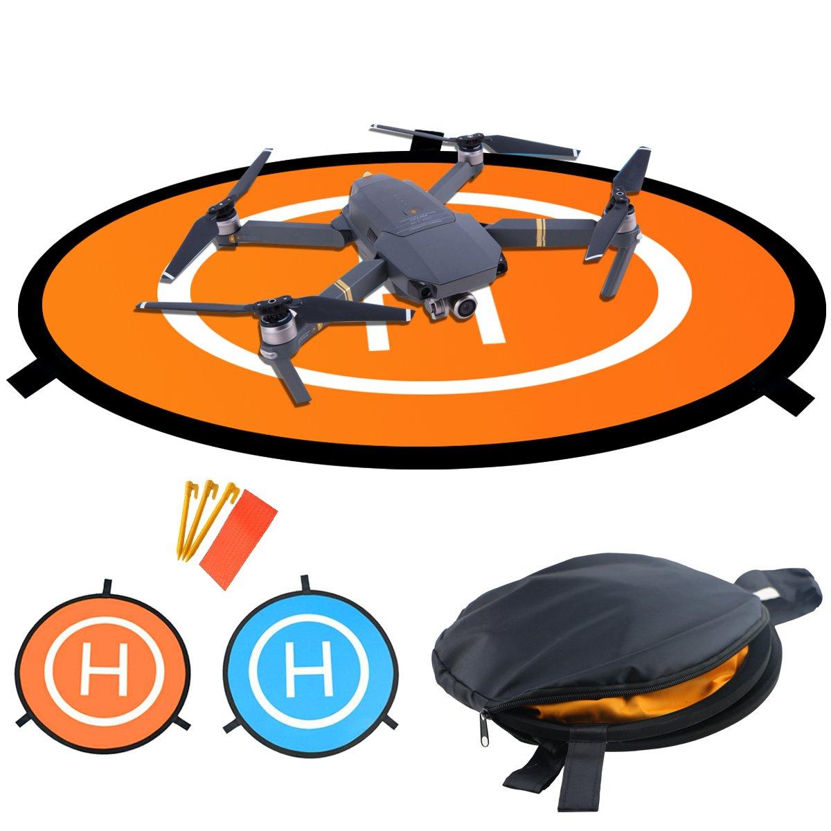 Pad%EF%BC%8CHomga Universal Waterproof Portable Helicopter