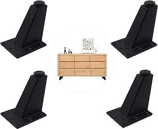 comprar comparacion 4 Piezas pies muebles aleación aluminio, Supporting foot Patas Muebles, para Cocina Gabinete Gabinete Encimera Barra Mesa ...