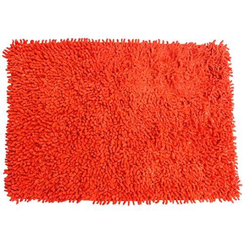 MSV Tapis Coton Orange 40 x 60 cm, 80 x 150 cm