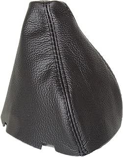The Tuning-Shop Ltd For Mercedes Slk R170 1996-2004 Gear Gaiter Black Italian Leather