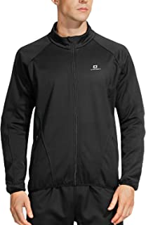 LAMEDA Men's Detachable Fleece Multi-Functional Windproof Warm Jacket Suitable for Cycling Training Hiking