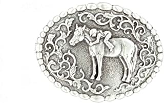 horse racing belt buckles