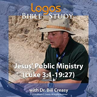 Jesus' Public Ministry (Luke 3: 1-19: 27) audiobook cover art