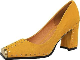 TAOFFEN Women Thin High Heels Spring Booties