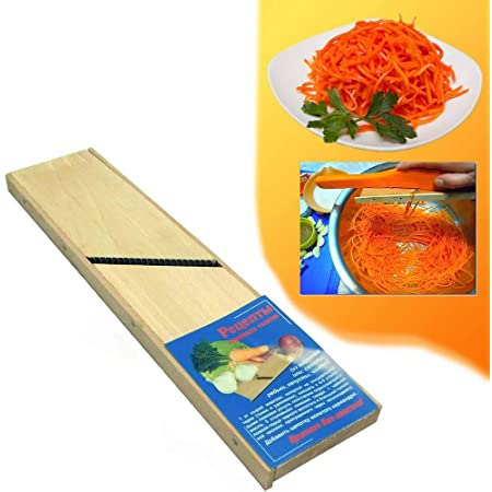 Graters for Shredded Carrots Large Wooden Hand Shredder Kitchen Slicer Korean Carrot Grater