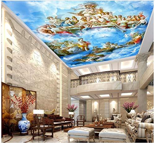 3d wallpaper foto personalizzata The Gospel of heaven is European soffitto murales 3d murales carta da parati per pareti camera da letto 3 d foto-250X200CM