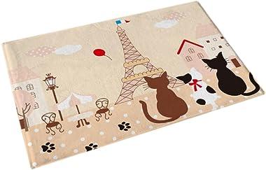 [Cats Date] Beautiful Anti-Slip Door Mat Kitchen/Bedroom/Home Used Rug 40 * 60CM