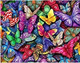 Pintura Por Numeros Para Adultosmariposa De Color Pintura Por Números Con Pinceles Y Regalo Para Amigo Festival Cumpleaños Hogar Decoración De Casa 40 X 50 Cm
