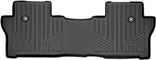 MAXLINER Custom Fit Floor Mats 2nd Row Liner Black for 2019-2021 Honda Passport