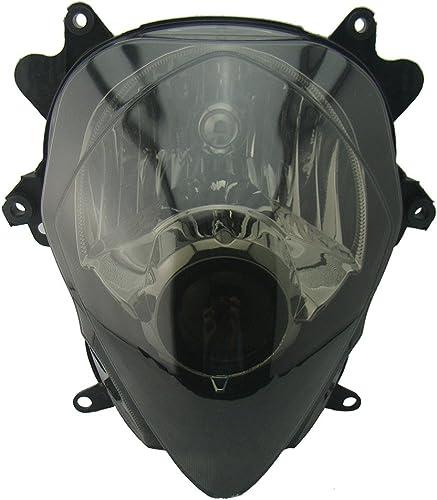 wholesale Mallofusa Motorcycle Front Headlight Headlamp Assembly Compatible for Suzuki GSXR1000 wholesale 2007-2008 sale Smoke Lens sale