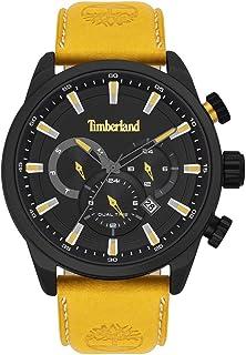 Timberland millway Mens Analog Quartz Watch with Leather Bracelet TBL.16002JLAB-02