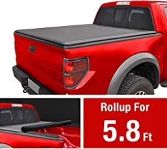 MaxMate Soft Roll Up Truck Bed Tonneau Cover for 2007-2013 Chevy Silverado/GMC Sierra 1500 | Fleetside 5.8' Bed | for Models Without Utility Track System