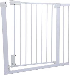 Ejoyous Baby säkerhetsstaket, säkerhetsgrind dörröppningar grind husdjur säkerhetsstaket giftfri 75-96 cm snabb installati...