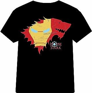 t shirt stark game of thrones iron man