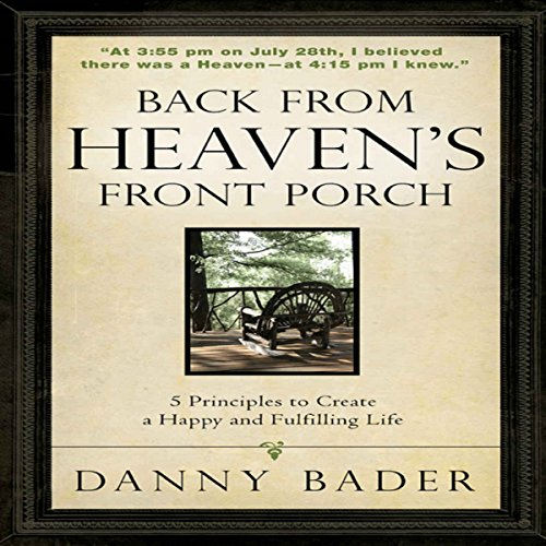 Back from Heaven's Front Porch audiobook cover art