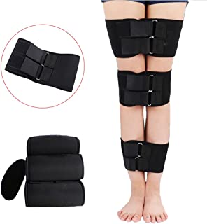 Enshey Legs Corrector Belt Band Straighten Belt Durable Material Leg Correction Device for XO-Type Leg 3 Pcs Set
