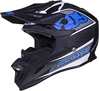 509 Altitude Carbon Fiber Chris Burandt Snowmobile Helmet - Open Face - Lightweight (Large)