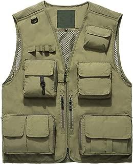 Da Uomo Multi Tasca Workwear WARM imbottito GILET IMBOTTITO GILET All/'aperto Escursioni di pesca