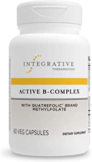 Integrative Therapeutics - Active B-Complex with Folate and Vitamins B1, B2, B3, B5, B6, B7, B12, and Choline Bitartrate f...