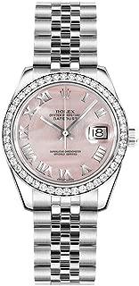 Women's Rolex Lady-Datejust 26 Mother of Pearl Pink Dial Jubilee Bracelet Watch - Ref. 179384