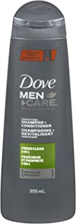 Dove Men+Care Fresh Clean 2in1 Shampoo + Conditioner 355ml