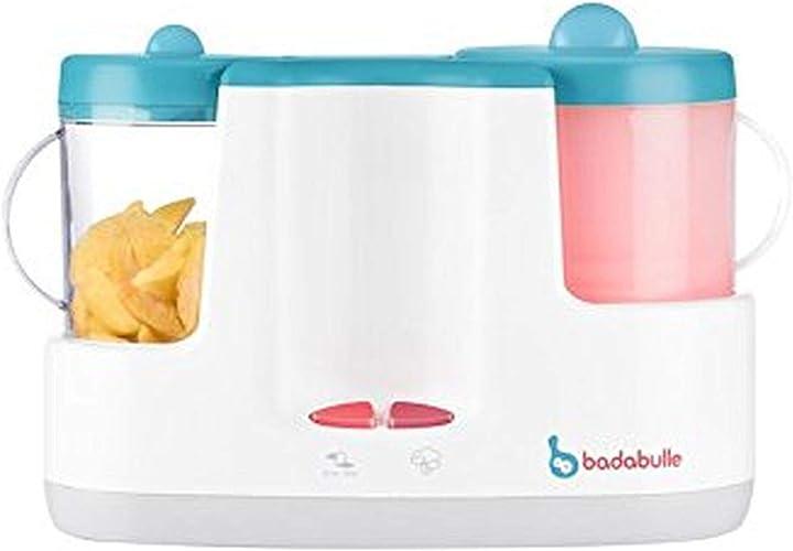 Cuocipappa mixer scaldabiberon blau badabulle b001005 baby station B001005