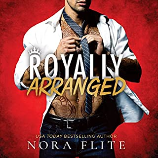 Royally Arranged audiobook cover art