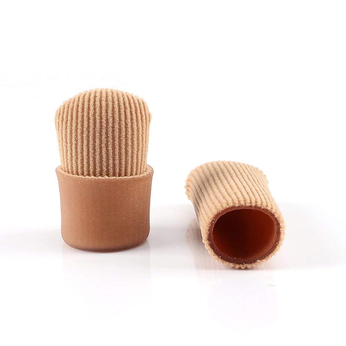 特徴ビリーヤギ生きているOpen Toe Tubes Gel Lined Fabric Sleeve Protectors To Prevent Corns, Calluses And Blisters While Softening Soothing Skin
