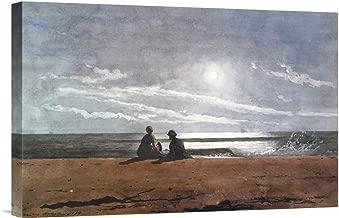 Global Gallery Budget GCS-373241-22-142 Winslow Homer Moonlight 1874