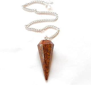 earthegy Miriam Stone Faceted Gemstone Pendulum