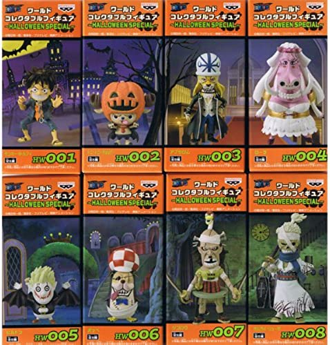 ONE PIECE One Piece World Collectable Figure HALLOWEEN SPECIAL Halloween Special all eight full set (japan import)