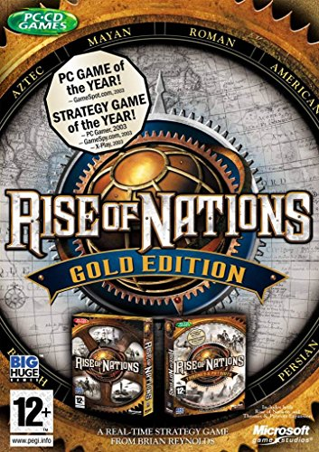 Rise of Nations - édition Gold [Importación francesa] [Windows Vista][Importato da Francia]