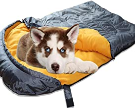 Lifeunion Dog Sleeping Bag Waterproof Warm Packable Dog Bed for Travel Camping Hiking Backpacking