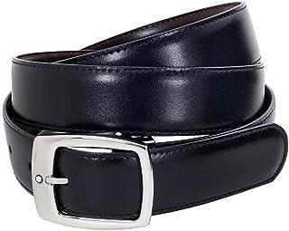 MontBlanc 万宝龙 男式 腰带 9695 黑色/棕色 120*3cm