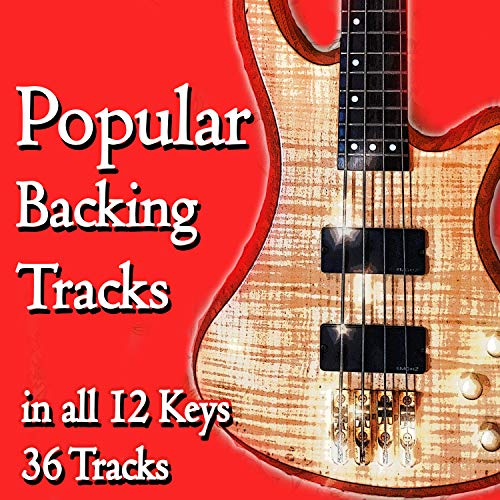 Pop Groove Guitar Backing Track in D (chords D A Bm G) NO BASS