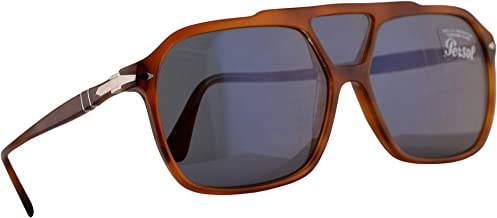 Persol 3223-S Sunglasses Terra Di Siena w/Light Blue Lens 59mm 9656 PO 3223S PO3223S PO3223-S