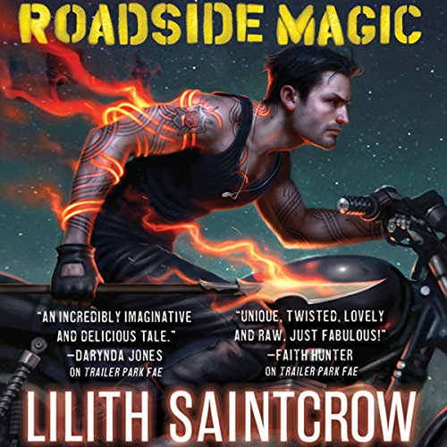 Roadside Magic audiobook cover art
