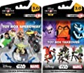Disney Infinity 3.0 Edition: Toy Box Takeover and Toy Box Speedway Game Expansion Bundle - Not Machine Specific by Disney Infinity