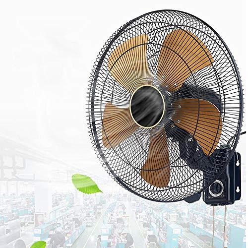 HRD Ventilador Grande silencioso Comercial, Ventilador de Pared Industrial, Ventilador oscilante del Dormitorio del Restaurante, 20 Pulgadas