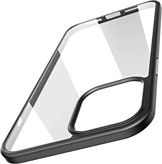 TOZO for iPhone 12 / iPhone 12 Pro Case 6.1 inch Hybrid Soft Grip Matte Finish Clear Back Panel Ultra-Thin [Slim Thin Fit]...